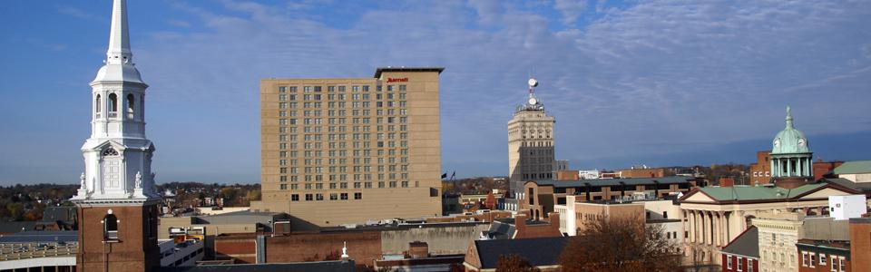 Lancaster, Pennsylvania Skyline